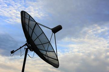 Satellite Dish on Portland Roof