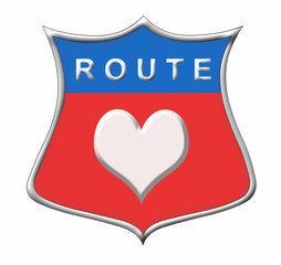 Route Herz