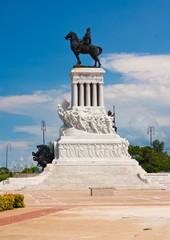 Statue of the Major General Maximo Gomez in Havana