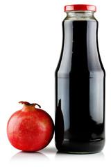 Juice and pomegranate.