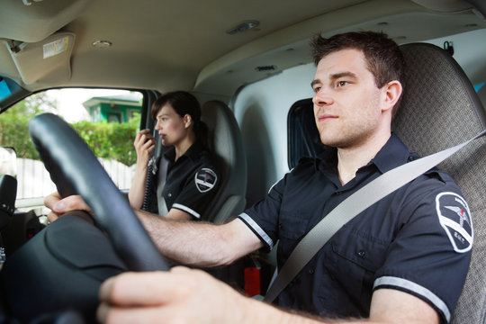 Paramedic Ambulance Driver