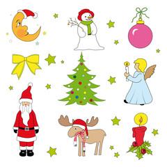 Weihnachts Motive Set