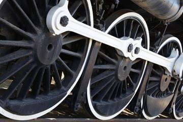 White wall Train wheels