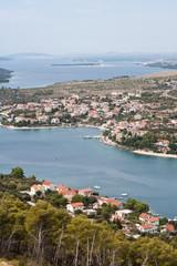 Fotobehang Mediterraans Europa Coastline of Dalmatia - Sibenik area
