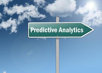 """Signpost """"Predictive Analytics"""""""