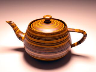 Beautiful traditional japanese teapot