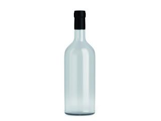 Weinflasche Weiß