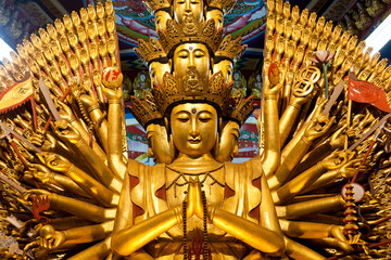 Thousand hands Chinese god, Kuan Im U Lai