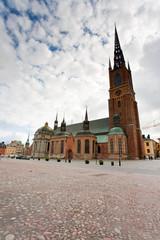 Knights church in Stockholm, Sweden