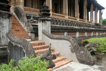 Staircase with dragon