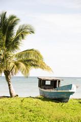 old fishing boat Corn Island Nicaragua