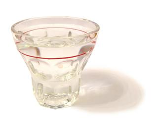 Schnapsglas freigestellt