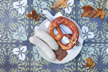 Weisswurst im Herbst