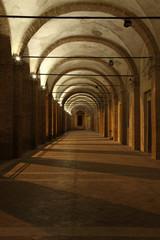 Fabriano, il Loggiato di San Francesco