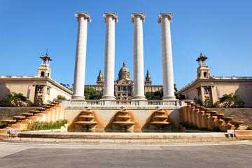 Museu Nacional d'Art de Catalunya, Barcelona, Spanien