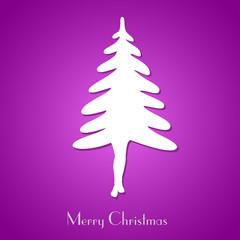 Simple christmas tree concept