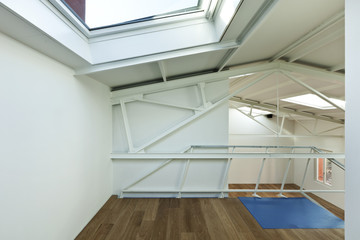 interior, detail of modern and new loft