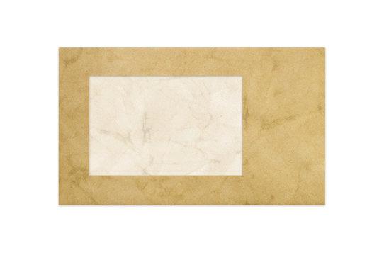 Parchment envelope