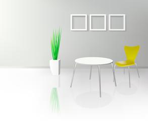 Modern Dinning Room Interior