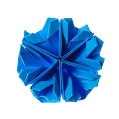 origami snowflake