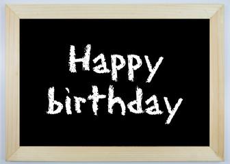Schild - Happy birthday
