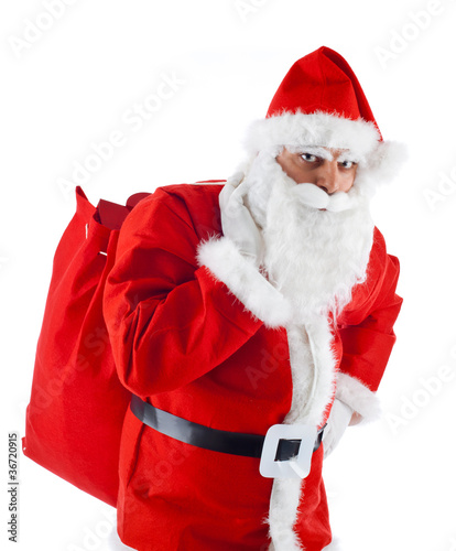 Oh Oh Oh Babbo Natale.Babbo Natale Oh Oh Oh Merry Christmas Stock Photo And