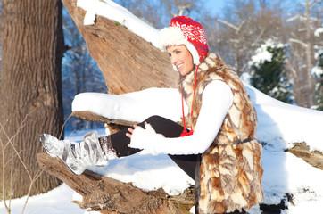 spaß und schnee winter