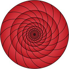 Poster de jardin Psychedelique Web Art Design Hypnosis Hypnose Psychedelique 100