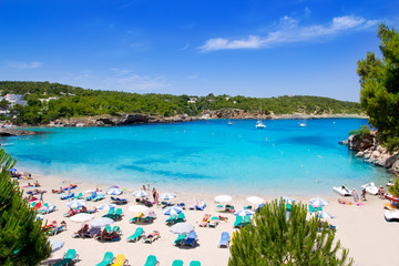 Wall Mural - Ibiza Portinatx turquoise beach paradise island