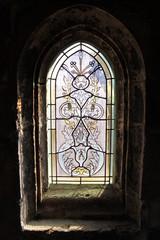 Photo sur Plexiglas Vitrail Chartres - Église Saint-Aignan