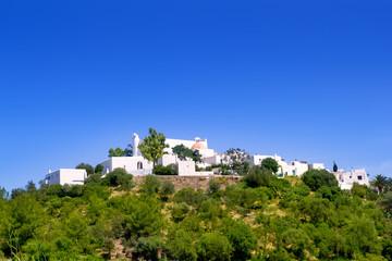 Ibiza Santa Eulalia del Rio hill houses