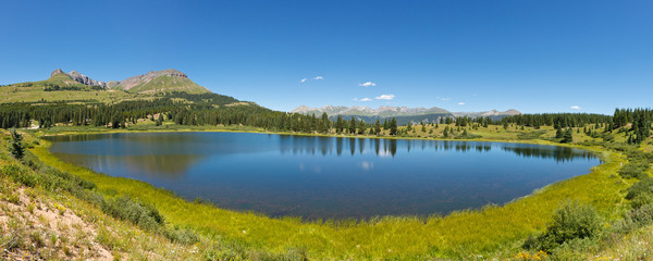 Little Molas Lake, Colorado