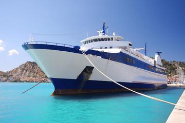 Big Ship in Greece, Zakynthos Island