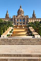 Palau Nacional, Barcelona, Spanien