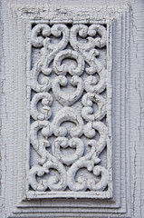 old carved door fragment background