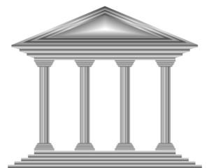 Metal bank icon