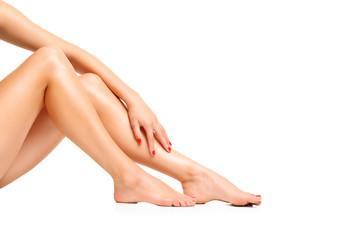 Long pretty woman legs
