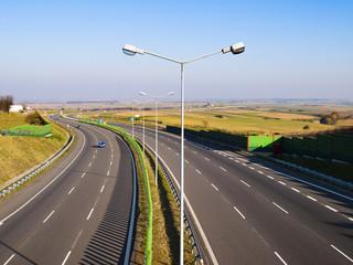 oświetlenie drogowe - fototapety na wymiar