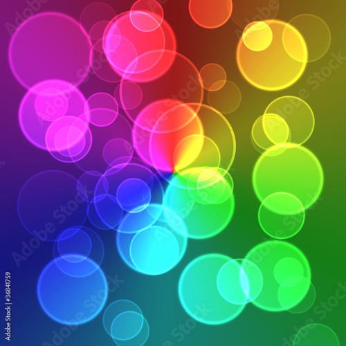 輝く輪のイラスト グラデーションfotoliacom の ストック写真と