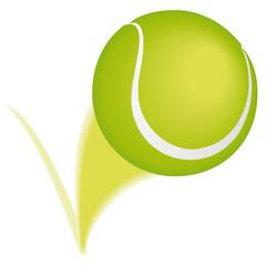 Tennis ball bounce