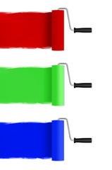 Farbrollen RGB