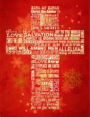 Christmas Cross, Christmas Greeting Card