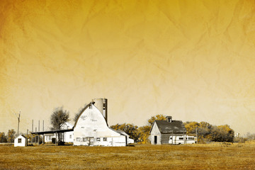 Old Picture Design - American Country