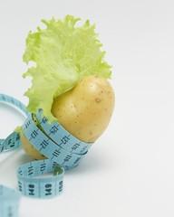 Картофель в салате