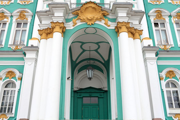 Gate of the Hermitage building