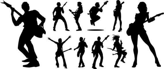 ten guitarists