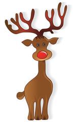 Icon christmas deer
