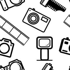 seamless background, of digital cameras