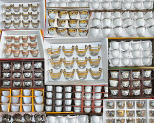 Collections of arabian cups