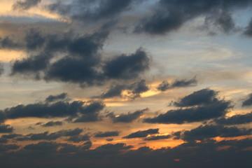 tramonto alle maldive